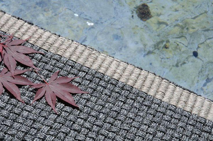 Nimes: contemporary outdoor rug, design by Warli