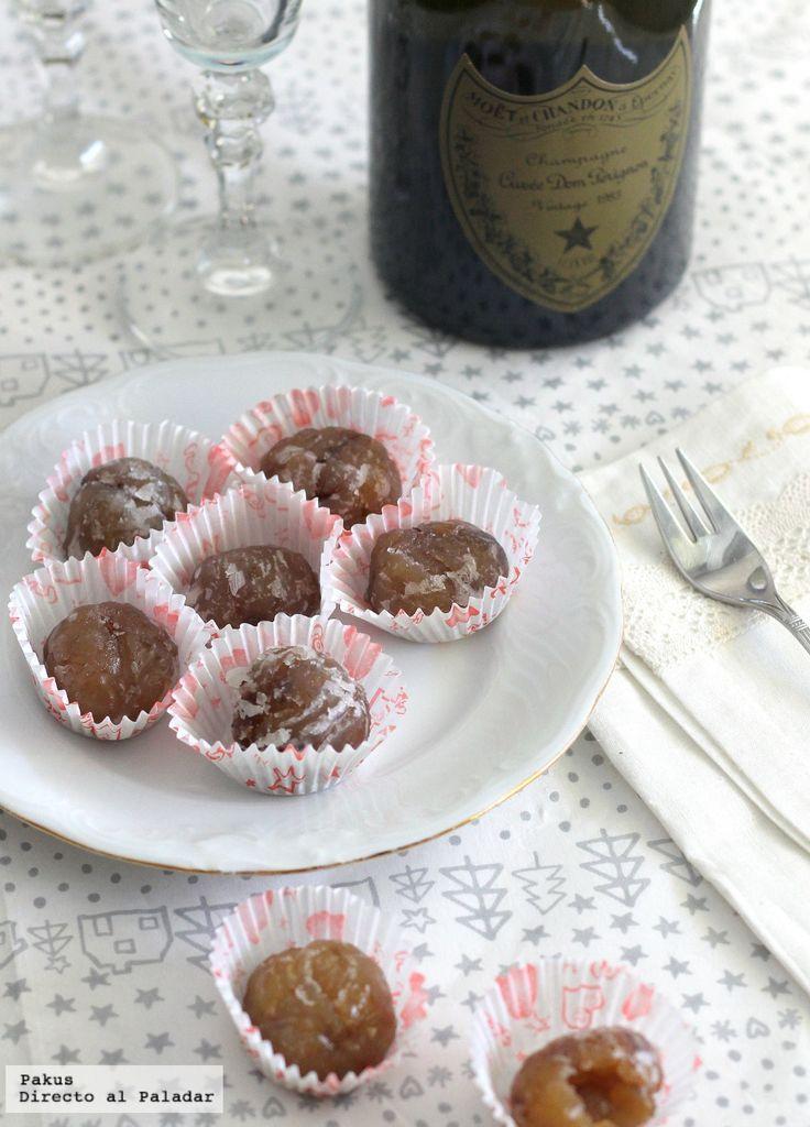 Te explicamos paso a paso, de manera sencilla, la elaboración de la receta de marrón glacé casero. Ingredientes, tiempo de elaboración y fotos paso a paso