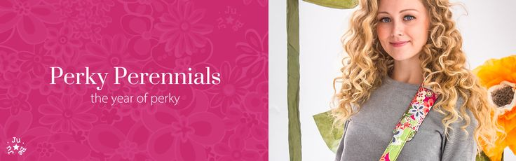 ZoLi + JuJuBe: Their very first print, Perky Perennials, is back with awesome collaborations!