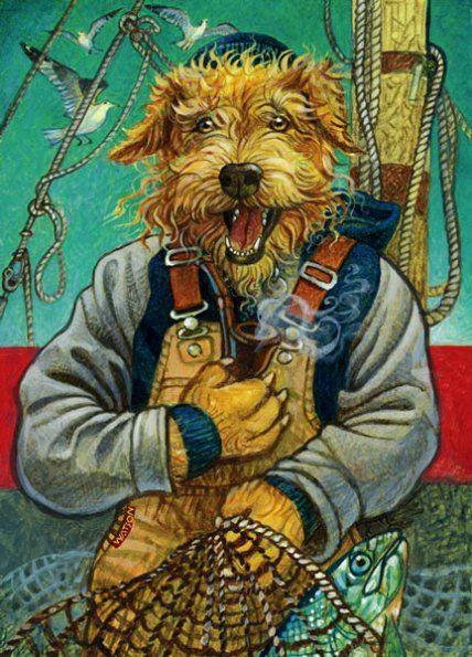 SALTY DOG BY RICHARD JESSE WATSON
