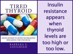 Hypothyroidism may cause high blood sugar & insulin resistance  A1C levels of hypothyroid patients are generally higher than normal, and in one study, replacement with thyroid hormone brought the A1C down, but it did not lower fasting blood glucose. [1] A1C is a measure of average blood glucose levels over several months. This study shows that the hypothyroid condition will cause an overall higher average blood glucose than normal.