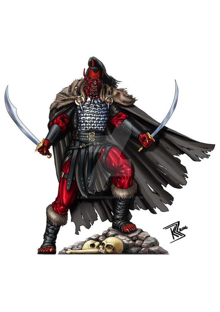 Hobgoblin Warlord by BraveSirKevin.deviantart.com on @DeviantArt
