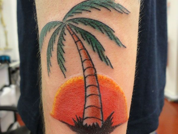 26 best images about tatoo ideas on pinterest tribal for Palmetto tree and moon tattoo