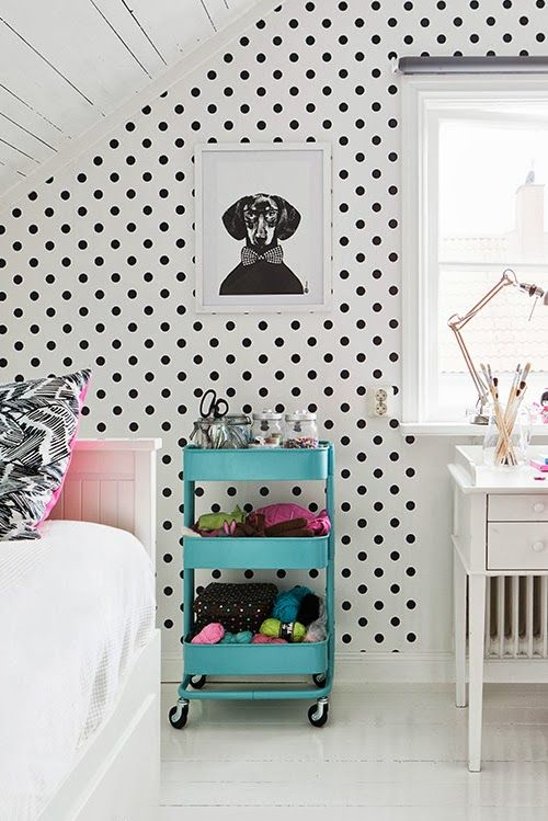 Ikea trolley for each of the kids rooms?  Lego storage for Trent and Barbie storage for Sydney???