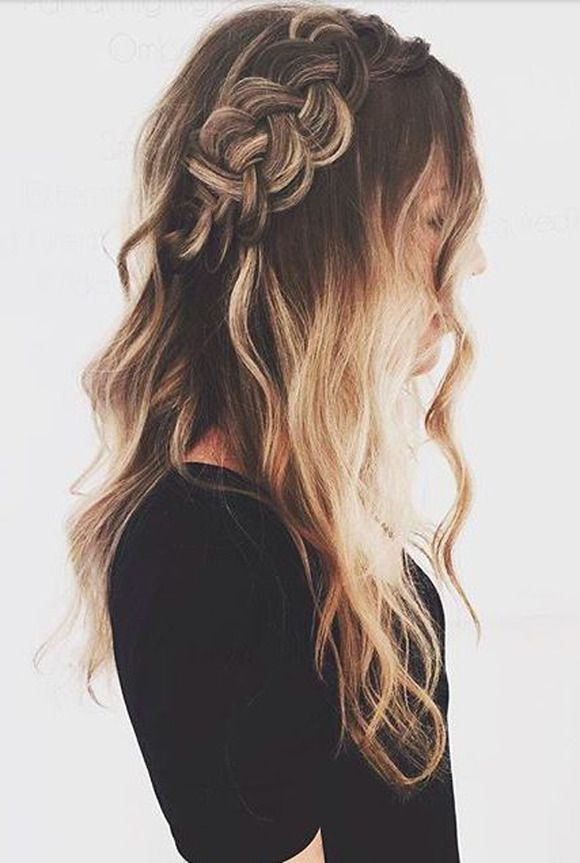 Peinados largos para chicos adolescentes