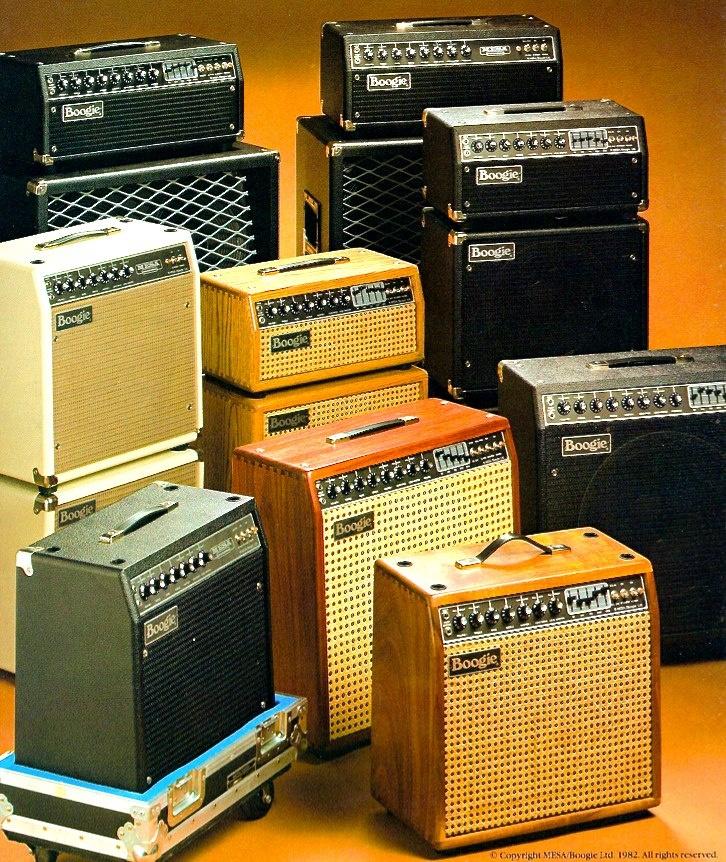 Mesa Boogie stuff