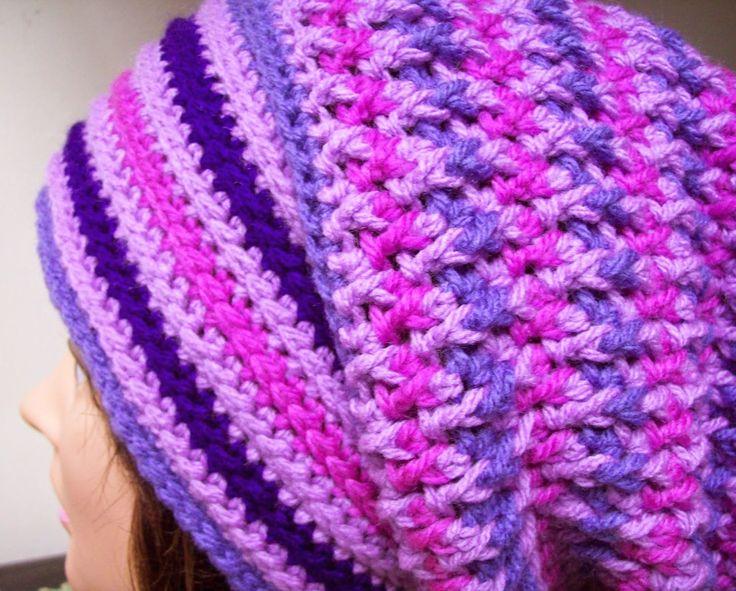 Cats-Rockin-Crochet Free Crochet Patterns: Unisex, Teaser Slouch, Free Crochet Pattern