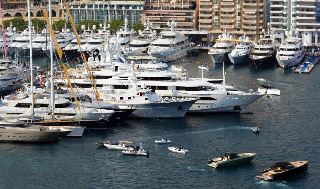 The first pictures of Monaco Yacht Show 2015