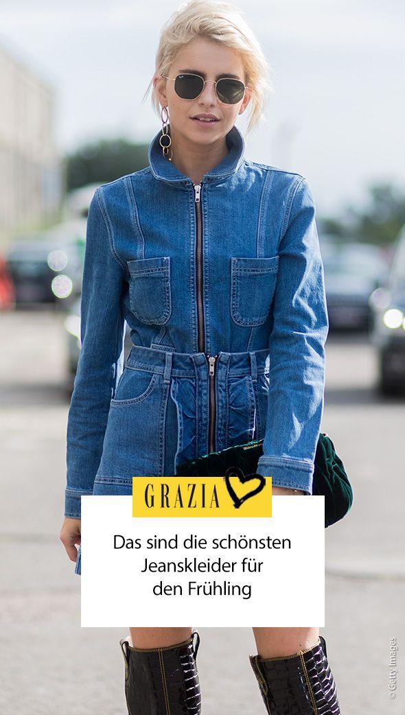 DAS sind die schönsten Jeanskleider aus Denim | Jeans kleid
