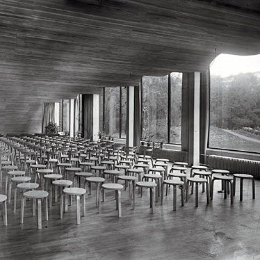 Auditorium of the Viipuri Municipal, Alvar Aalto, 1935