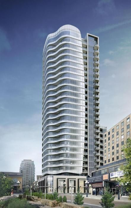 Minto Group presents a new high-rise condos known as Minto Yorkville Park. This development is a proposed 25 storey mixed-use building. #MintoYorkvillePark