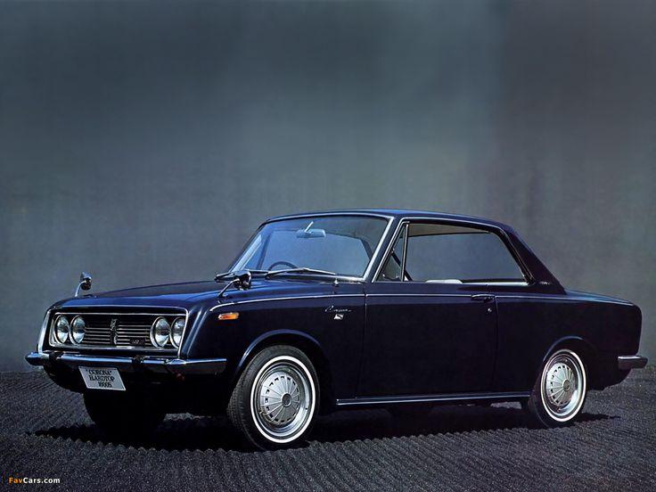 Toyota Corona Hardtop Coupe JP-spec (RT50) 1965–69