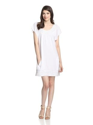 67% OFF Skemo Women's Shift with Beading (White)