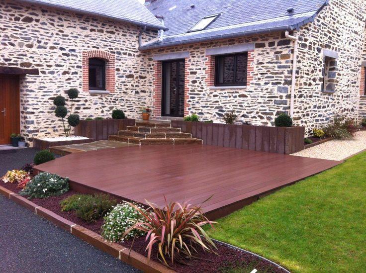 point p lame terrasse bois diverses id es de conception de patio en bois pour. Black Bedroom Furniture Sets. Home Design Ideas