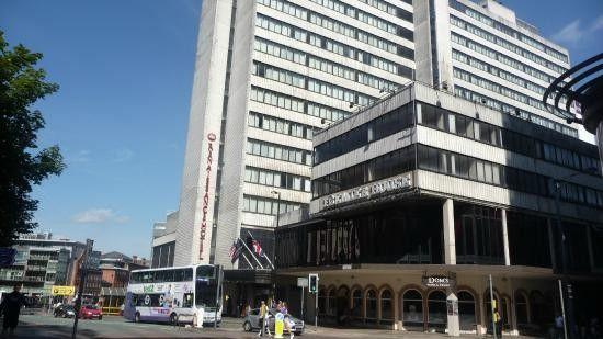 Renaissance Hotel Blackfriars Development, Manchester, built 1974 by Fram Gerrard.