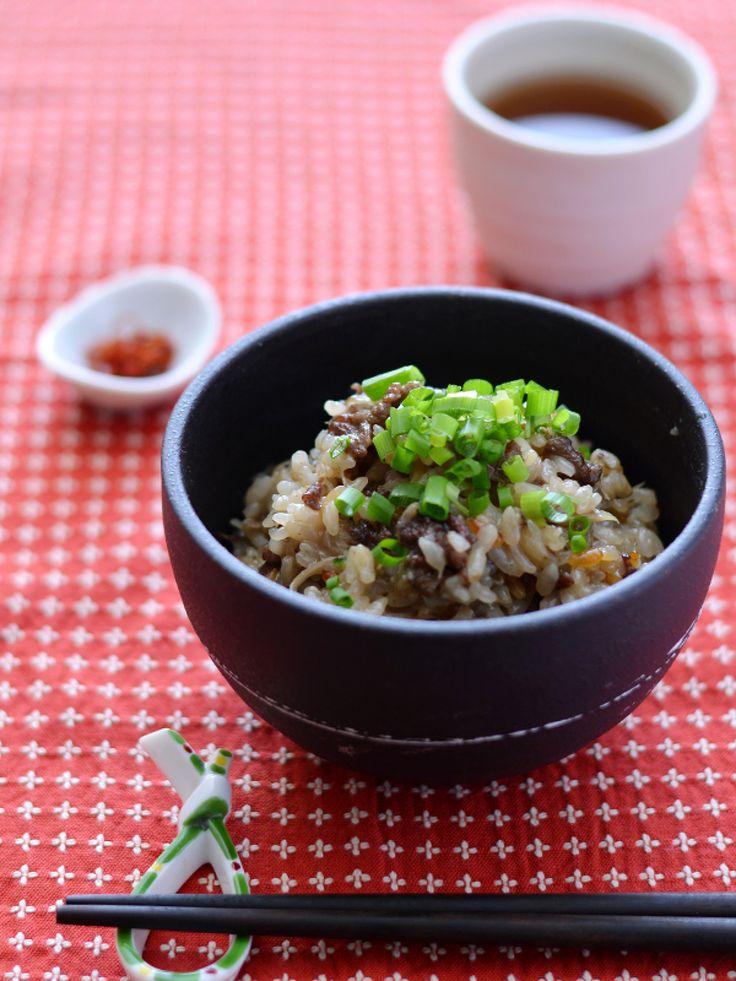 おこわ風牛ごぼう炊き込みごはん by 西山京子/ちょりママ | レシピサイト「Nadia | ナディア」プロの料理を無料で検索