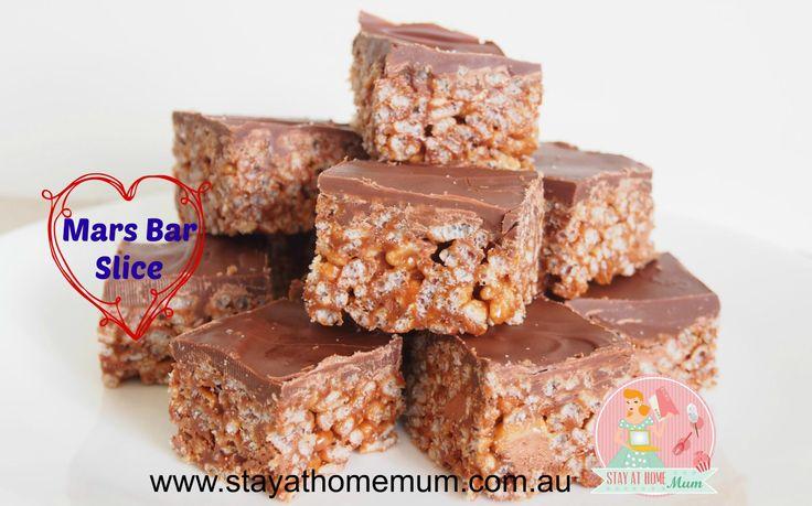 Mars Bar Slice | Stay at Home Mum
