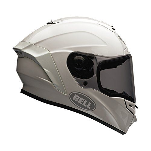 Bell Solid Adult Star Street Motorcycle Helmet – White / Large