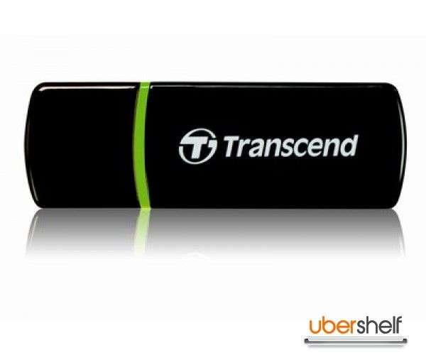 Transcend USB Card Reader RDP5 Black