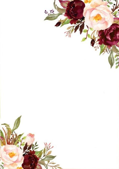 molduras florais