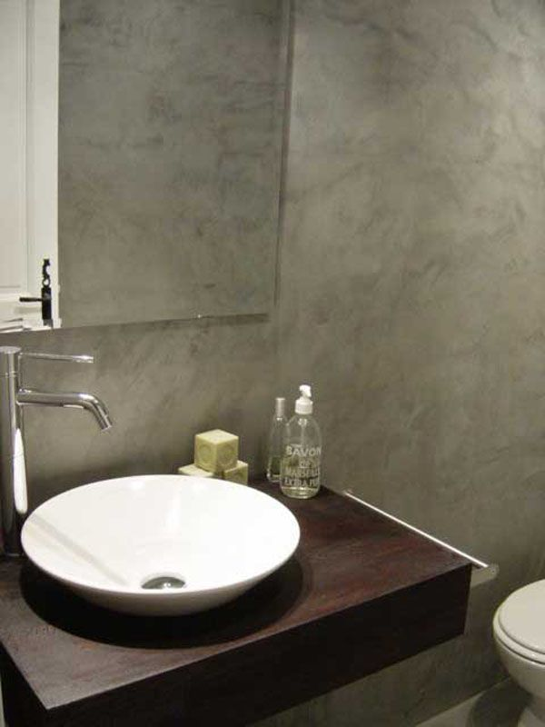 10 beste idee n over beton badkamer op pinterest. Black Bedroom Furniture Sets. Home Design Ideas
