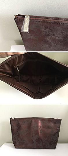 Nordstrom Bags. Nordstrom Faux Sude Iridescent Bronze Cosmetic Bag.  #nordstrom #bags #nordstrombags