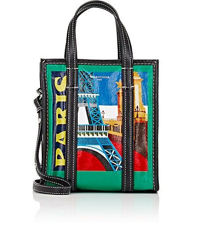 bfeb7af0b2 We Adore  The Arena Leather Bazar Extra-Small Shopper Tote Bag from  Balenciaga at Barneys New York