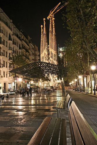 Sagrada Bench | Sagrada Familia, Barcelona