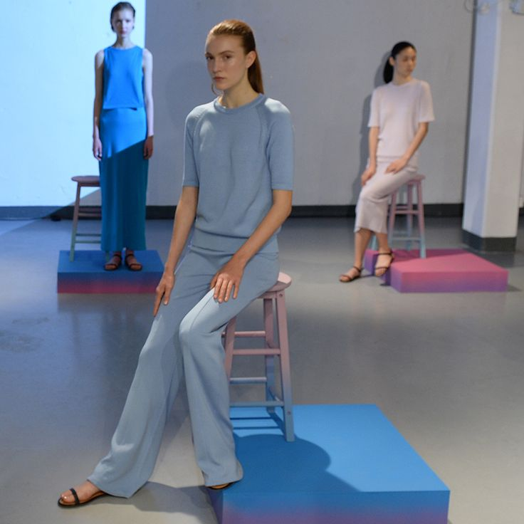 John Smedley at London Fashion Week SS17 #PoetryofColour