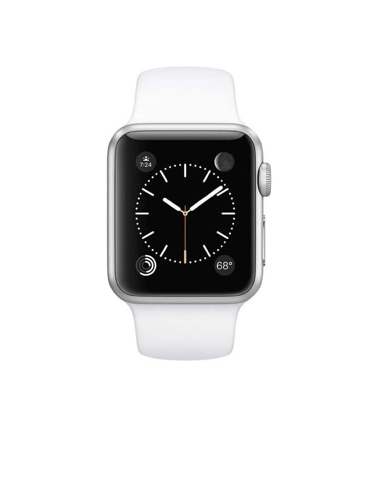 """Original Apple Watch 42mm (fits 5.5"""" - 8.2"""" wrists) - Silver Aluminum Case, White Sport Band Edition (Retail Packaging)   Apple Watch 'The most personal device' has all-new interactions and technologies. They let you Read  more http://themarketplacespot.com/original-apple-watch-42mm-fits-5-5-8-2-wrists-silver-aluminum-case-white-sport-band-edition-retail-packaging/"""