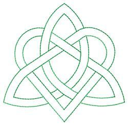 Celtic Knot embroidery design @Natasha S Howard : I just found this and thought about Ava's dress - would be cute instead of applique shamrock if you went all #irish #celtic :P justsayin