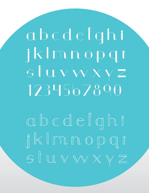 Tipografia geometrica