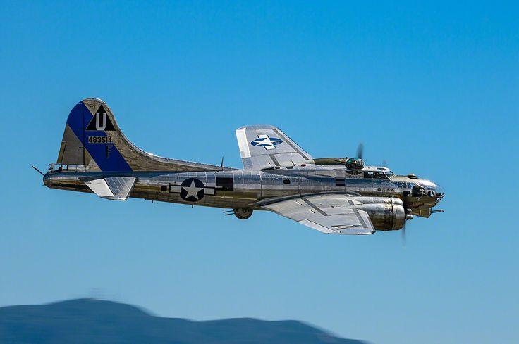 Boeing B-17 Flying Fortress, May 19, 2014 Planes Of Fame Airshow.