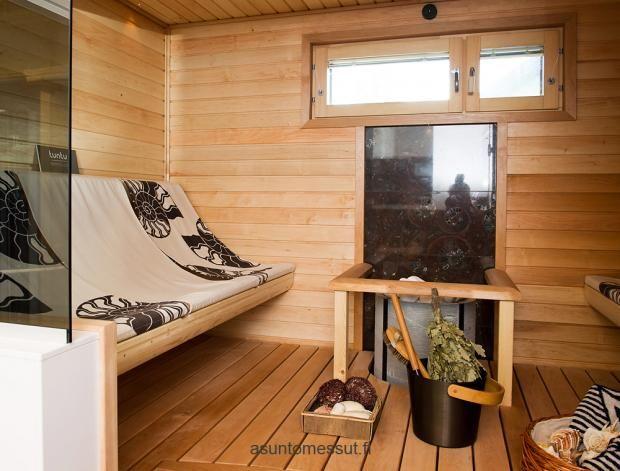 Villa Graniitti - Sauna   Asuntomessut Lappenrannassa 2012