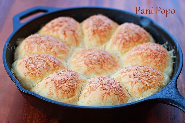 pani popo- Hawaiian sweet rolls
