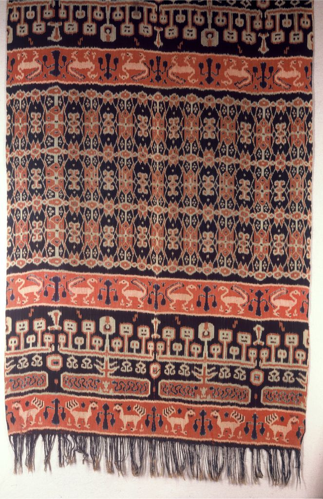 Hinggi (men's Ceremonial Wrapper) (Indonesia), early 20th century
