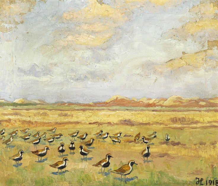 Hjejler på Heden 1918