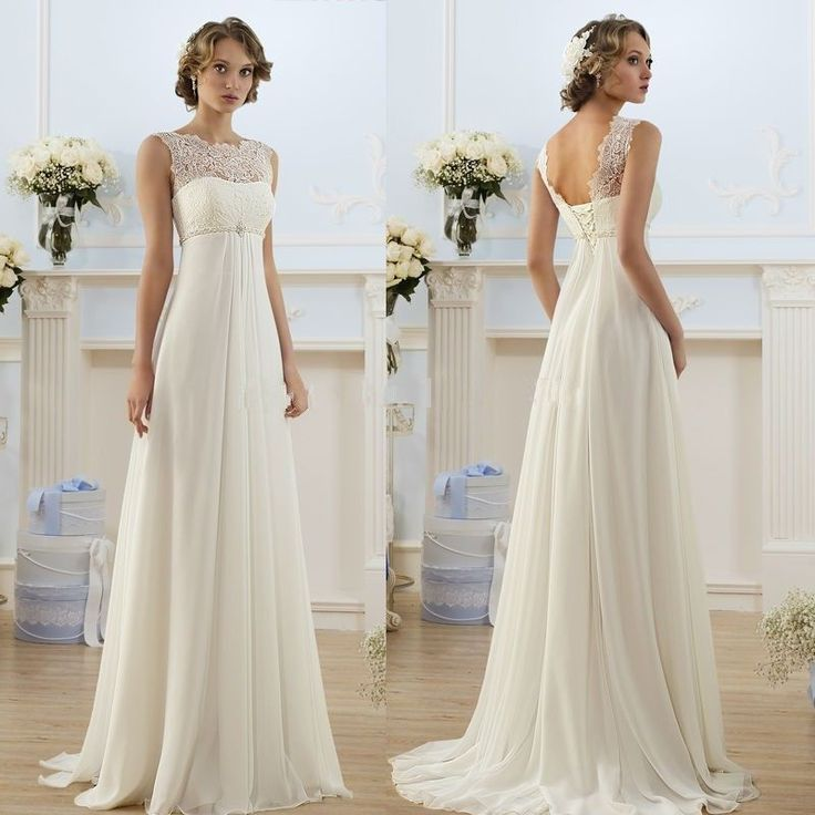 1000+ Ideas About Chiffon Wedding Dresses On Pinterest