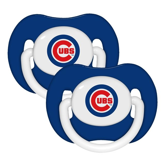 Chicago Cubs Baby Pacifier 2 Pack - $9.99 at Sportsfan Store