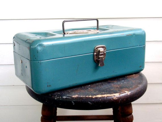 Old Pal Tackle Box by ChestnutStSmallHouse on EtsyTackle Boxes, Pals ...