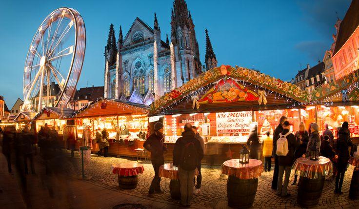 Marché de Noël de Mulhouse, Haut-Rhin, Alsace