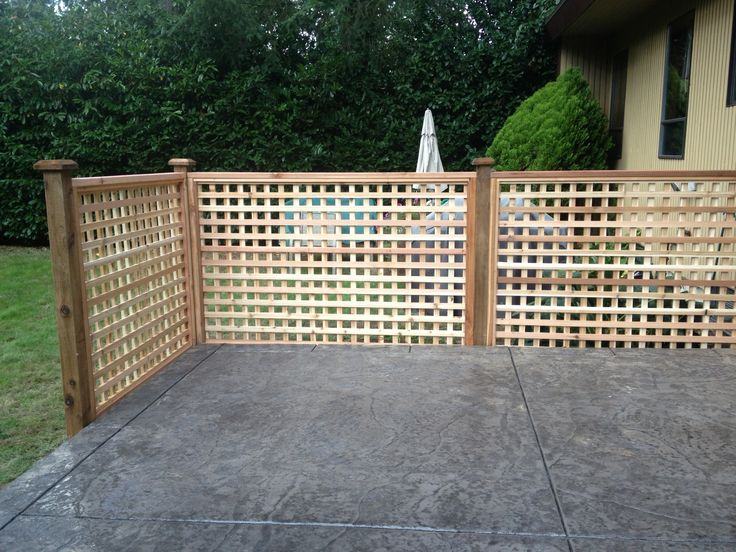 Best 25 Lattice Fence Panels Ideas On Pinterest Privacy