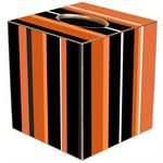 TB1861 - Halloween Stripes Tissuebox Cover $24.00 #Octbober31st #TrickorTreat #Halloween #stripes