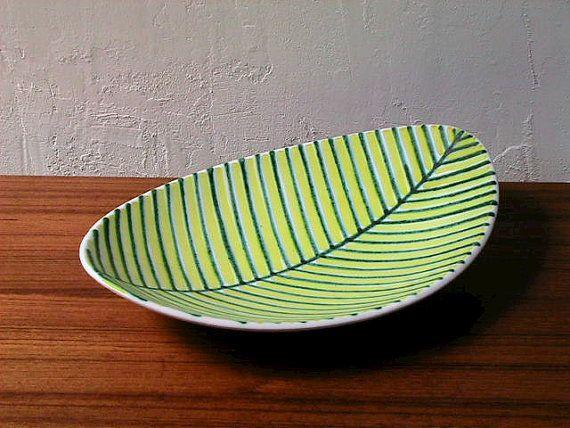 Graveren Norsk Vintage Leaf Plate