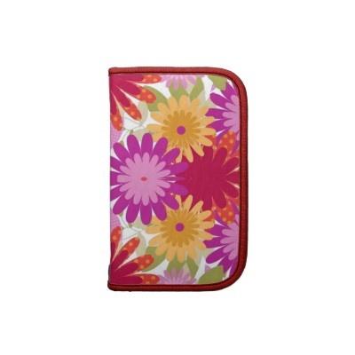 #planners #folios #zazzle #elenaindolfi Colorful Flowers Planner by elenaind