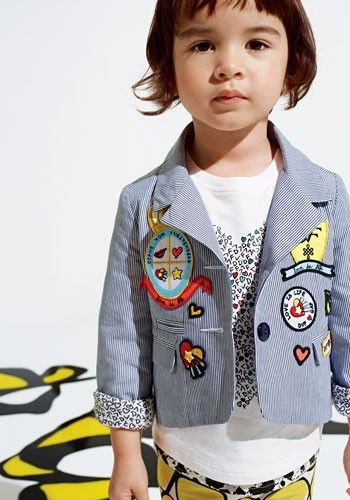 The DVF for Gap Kids lookbook is simply adorable.