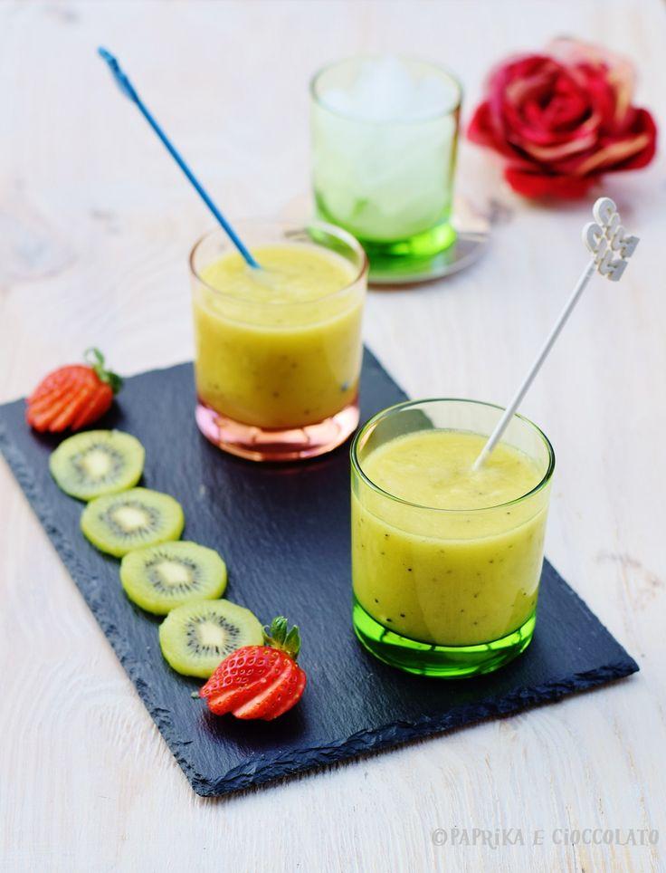Bibita al kiwi e ananas - analcolica