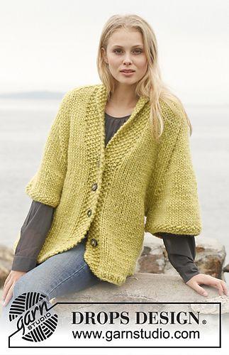 FREE--pattern jacket w/raglan sleeve and shaw collar 33-2_medium