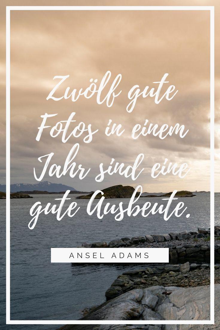 Ansel Adams, der Grösste. Ein Zitat zur Fotografie, dass gar nicht so falsch ist.