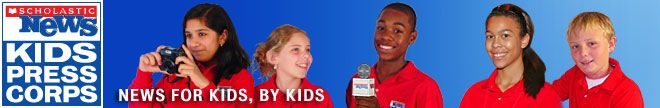 Scholastic News Kids Press Corps. - very cool!